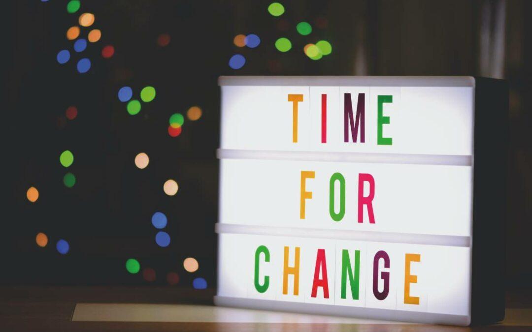 Änderung Öffnungszeiten